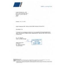 無毒無苯無甲醛水性膠證書(荷蘭)-2
